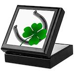 St. Patrick's Keepsake Box Lucky Irish Wood Box