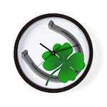 St. Patrick's Lucky Wall Clock