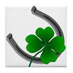 St. Patrick's Tile Coaster Lucky Irish Coasters