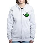 St. Patrick's Lucky Women's Zip Hoodie