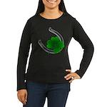 Lucky Irish Women's Long Sleeve Dark T-Shirt