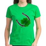 St. Patrick's Lucky Women's Dark T-Shirt