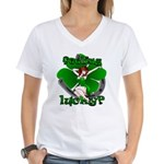 St. Patrick's Lucky Women's V-Neck T-Shirt