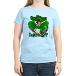 St. Patrick's Women's T-Shirt Feeling Lucky Pin Up