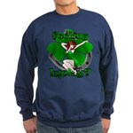 Sexy Irish Pinup Girl Sweatshirt Lucky Shirt