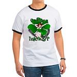 Sexy Irish Pinup Girl Ringer T