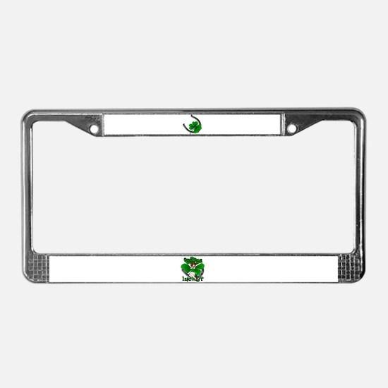 St. Patrick's Lucky License Plate Frame