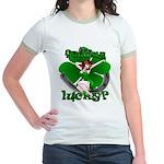 St. Patrick's Lucky Jr. Ringer T-Shirt