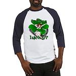 Sexy Irish Pinup Girl Baseball Jersey