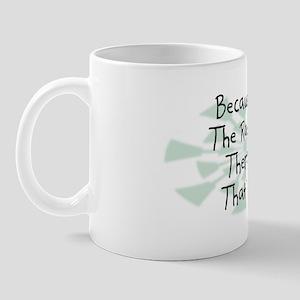 Because Radiation Therapist Mug