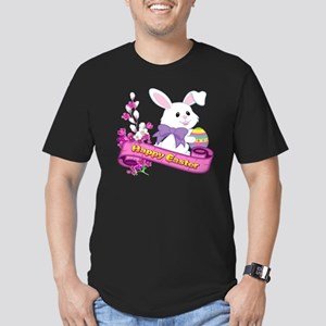 White Easter Bunny Banner T-Shirt