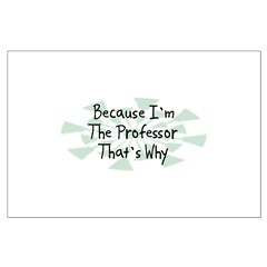 Because Professor Posters