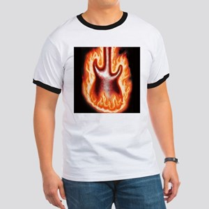 Engulfed in Flames - Ringer T
