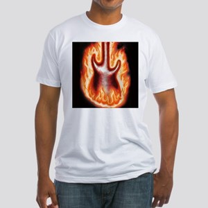 Engulfed in Flames - Fitted T-Shirt
