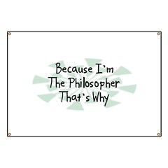 Because Philosopher Banner