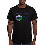 Irish EMT Property Men's Fitted T-Shirt (dark)
