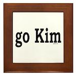 go Kim Framed Tile