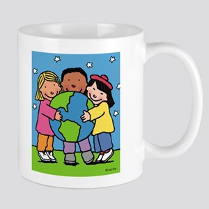 world hug Mug