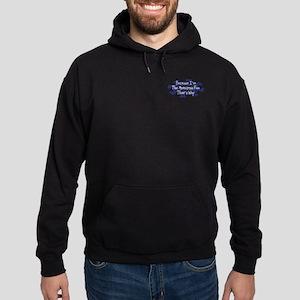 Because Motocross Fan Hoodie (dark)