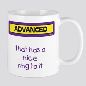 that has a nice ring to it Mug (Purple and Yellow)