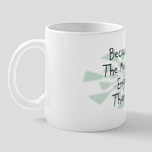 Because Mechanical Engineer Mug