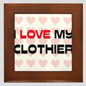 I Love My Clothier Framed Tile