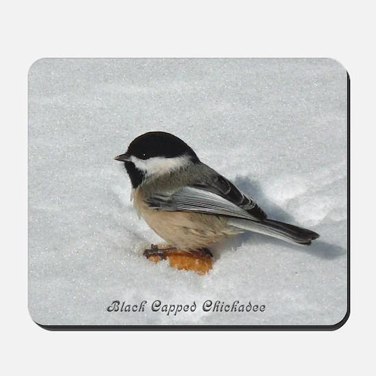 Chickadee Mousepad