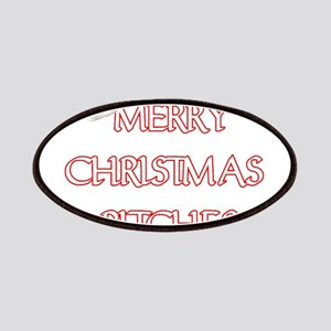 MERRY CHRISTMAS BITCHES Patch