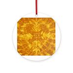 GOLDEN HEART Ornament (Round)