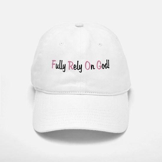 FROG Fully Rely On God Baseball Baseball Cap
