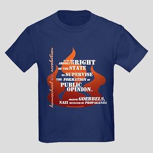 Goebbels Education Kids Dark T-Shirt