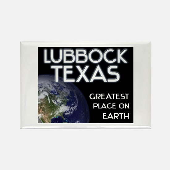 lubbock texas - greatest place on earth Rectangle