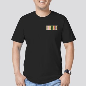 Desert Storm Men's Fitted T-Shirt (dark)
