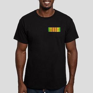 Vietnam Service Ribbon Men's Fitted T-Shirt (dark)