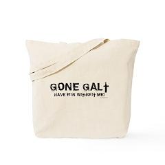 Gone Galt Tote Bag