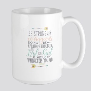 Joshua 1:9 Bible Verse Mugs
