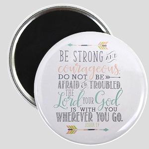 Joshua 1:9 Bible Verse Magnets