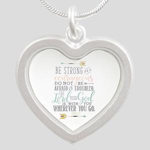 Joshua 1:9 Bible Verse Necklaces