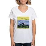 EcoFriendly Women's V-Neck T-Shirt