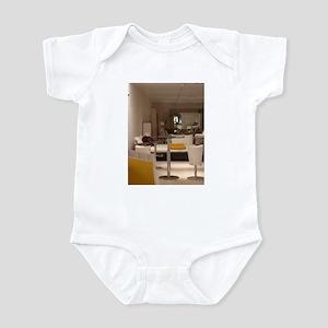 INNERS, THROUGHS, UPS & DOWNS #28 Infant Bodysuit