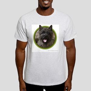 Cairn Terrier Art Ash Grey T-Shirt