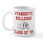 wyandotte bulldogs class of 1964 Mugs