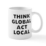 Think Global 11 oz Ceramic Mug