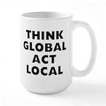 Think Global 15 oz Ceramic Large Mug