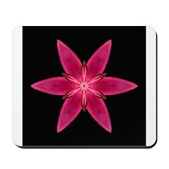 Pink Lily I Mousepad