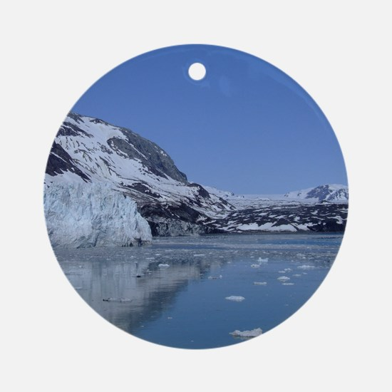 Glacier Bay Ornament (Round)