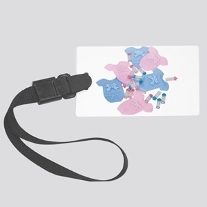 BabyClothes061509 Large Luggage Tag