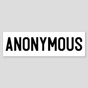 Anonymous Sticker (Bumper)