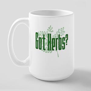 Got Herbs? Large Mug