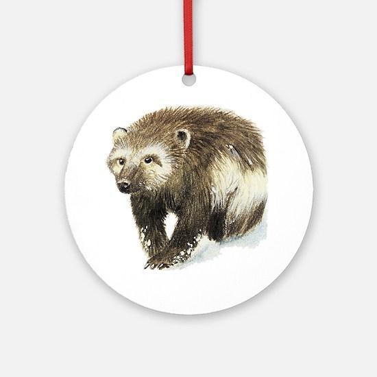 Wolverine Ornament (Round)